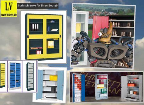 Schulranzenregal aus Stahl | Schulmöbel | Pinterest