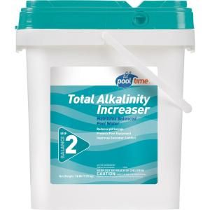 Pool Time 16 Lb Total Alkalinity Increaser 23546ptm The Home Depot Pool Time Pool Plastic Grass Pavers