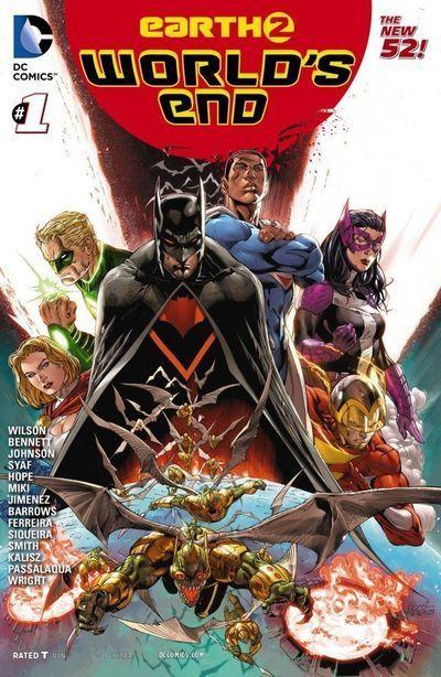 Tierra Ii El Fin Del Mundo Espanol Comic Mega Comics End Of The World New 52