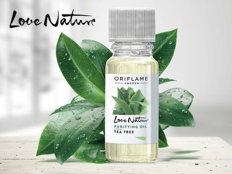 Oriflame purifying face oil