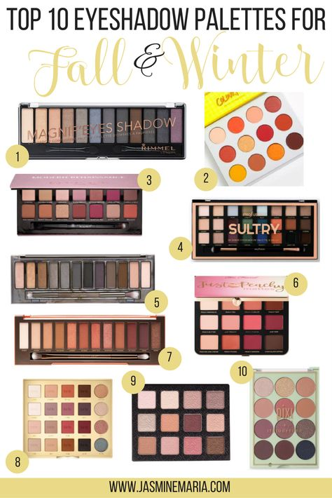 Top 10 Eyeshadow Palettes For Fall And Winter Top 10