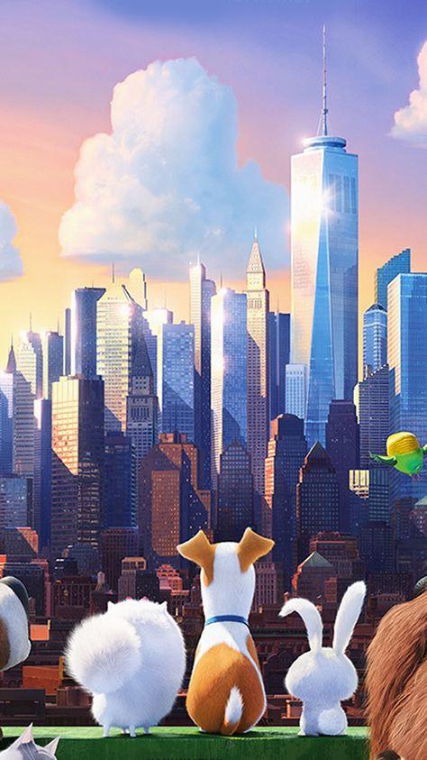 Secret Life Of Pets Animation Art Illustration Wallpaper Hd Iphone