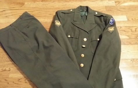 79th Infantry US Military Uniform by RobsVintageTreasures on Etsy, $87.45