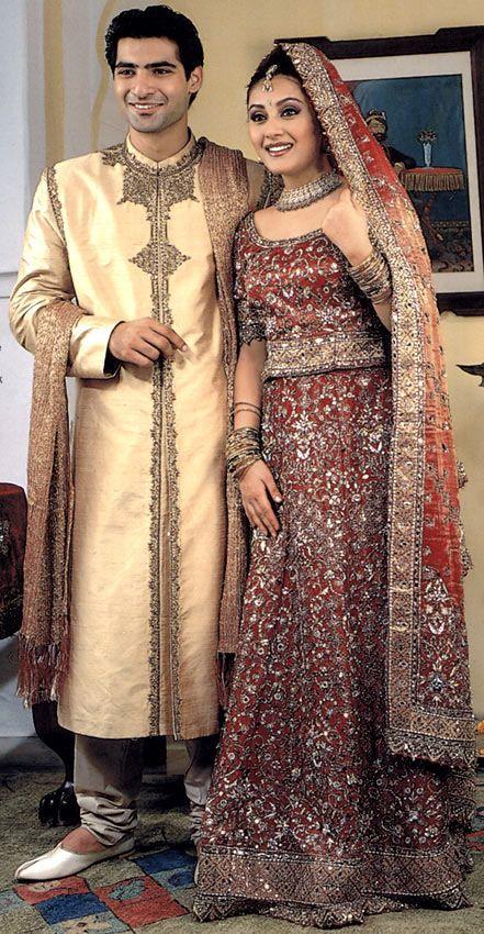 Bride N Groom Wedding Wear In India Grooms Indian By