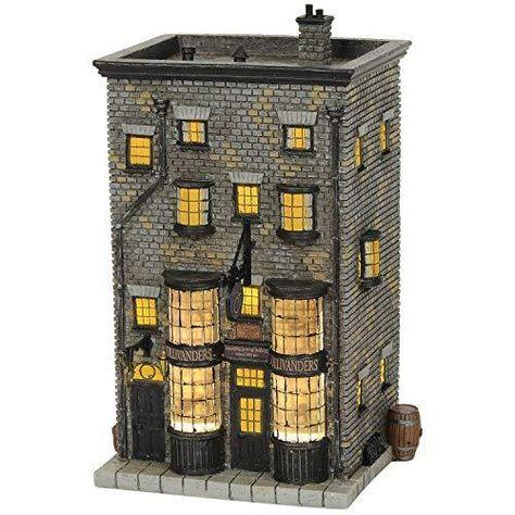 Department56 6002313 Harry Potter Village Ollivanders Wand Shop Lit Building, 7.88, Multicolor - Multicolor