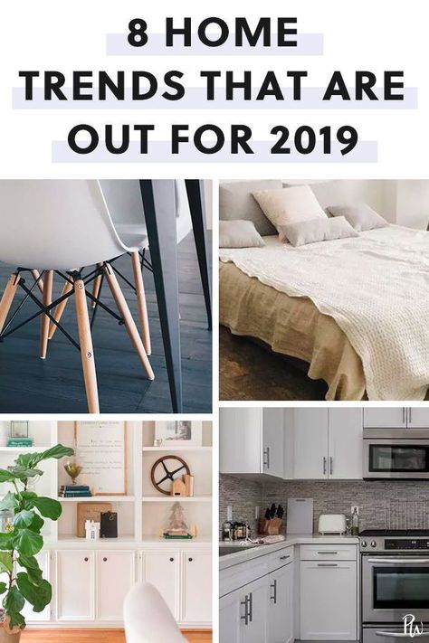 These 8 Overplayed Home Trends Are Officially Out for 2019   #purewow #home #trends #decor #hometrends #homedecor #decortrends #decortips
