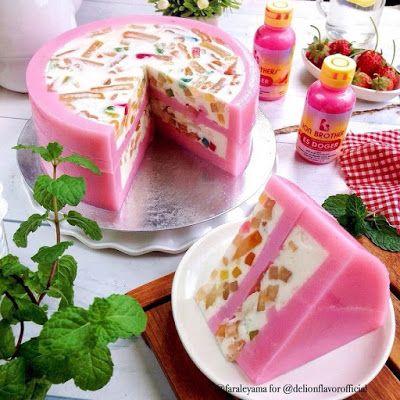 Pudding Es Doger Resep Minuman Makanan Kue Lezat