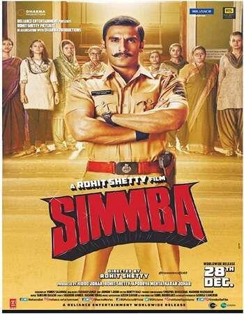 Simmba 2018 Full Hindi Movie 720p Brrip Free Download Full