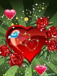 Сердечки - анимация на телефон №1088858