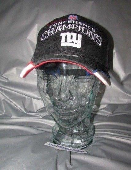 05d5fab7794f8 NFL New York Giants Conference Champions XLII Reebok Locker Room Sideline  Hat  NewYorkGiants  giants  football  conferencechampions  hat  sidelinehat  ...
