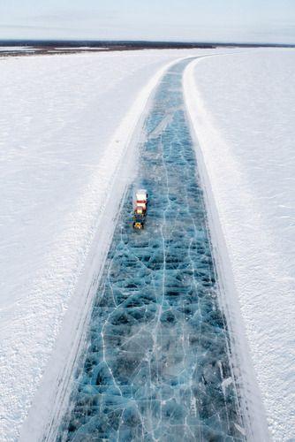 Ice road trucker.
