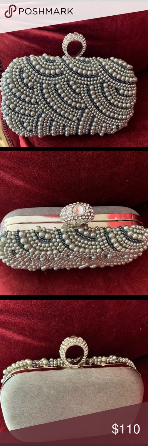 Stunning Pearl Clutch Stunning Pearl Clutch Purse Bags Clutches & Wristlets