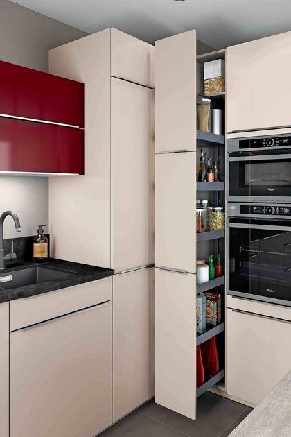 Colonne Coulissante Cuisine Ikea Trick En 2020 Meuble Cuisine Rangement Cuisine Amenagement Cuisine