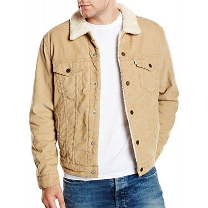 manteau en velours homme levis