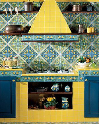 Ceramiche Di Vietri Cucina. Best Ceramiche Di Vietri Cucina Cucine ...