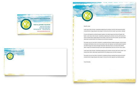 Special Education Business Card \ Letterhead Template Download - letterhead template word free