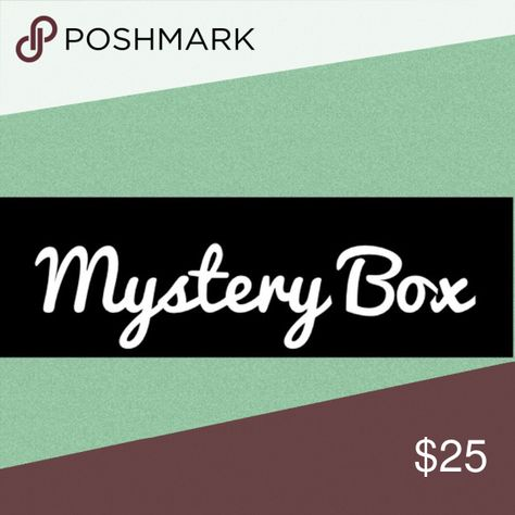 Mystery Box Great For Resale Lot Of 6 Items At least 6 items randomly selected from current inventory.  The items could be any combo of tops, pants, dresses, shoes in various sizes.  All designer or department store brands.  All in great preowned condition great for resale or to keep for yourself! Other