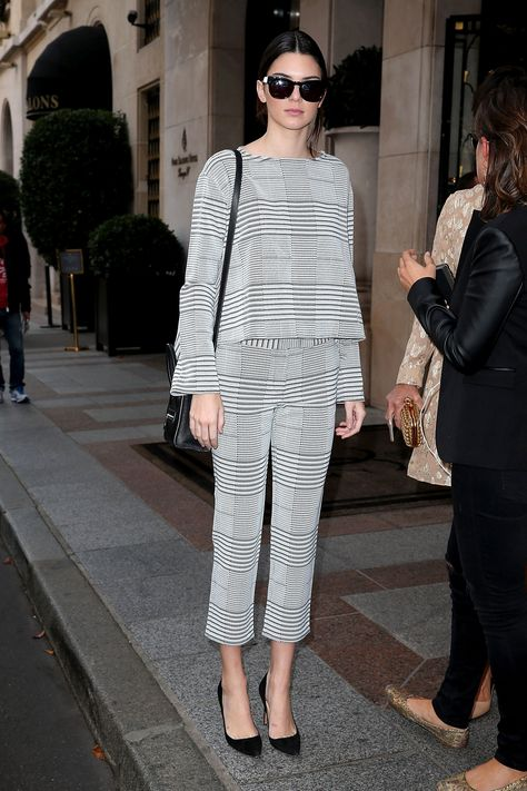 Kendall Jenner's clothes and outfits. Find out where to buy everything Kendall Jenner wore.