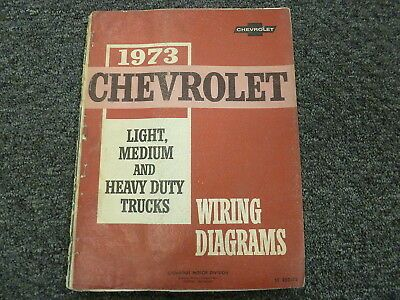 1973 Chevy C10 C20 C30 K10 K20 K30 Truck Electrical Wiring Diagram Manual Ebay In 2020 Electrical Wiring Diagram Chevy C10 Trucks