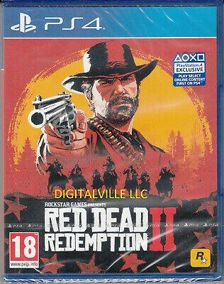 Red Dead Redemption 2 Ps4 Brand New Factory Sealed In 2020 Red Dead Redemption Game Presents Redemption