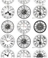 Display image coloring-difficult-anciennes-montres