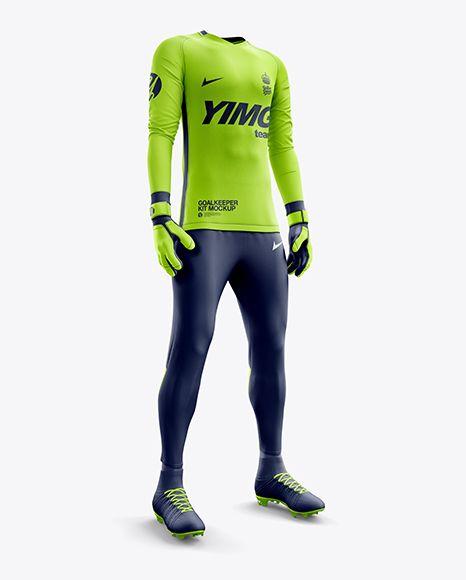 Download Men S Full Soccer Goalkeeper Kit With Pants Mockup Hero Shot In Apparel Mockups On Yellow Images Object Mockups Clothing Mockup Shirt Mockup Goalkeeper Kits