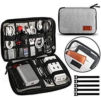 GadgetsOrganizer Paket Digital U Festplatte USB-Kabel Kopfhörer Travel StorageUE