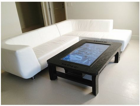 Table De Salon Interactive Table Basse Maison Intelligente Et