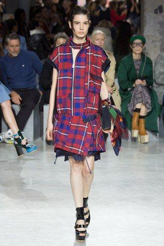 Sacai Spring 2017 Ready-to-Wear Fashion Show - Isabella Ridolfi