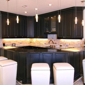 Enchanting Custom Home Bar Builders Contemporary - Best Picture ...