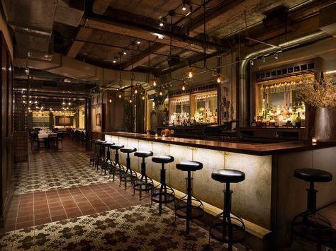57th St At 6th Ave New York City Quality Italian Restaurant Design Italian Bar Restaurant Interior