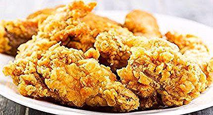 Broasted Chicken Recipe طريقة عمل بروستد الدجاج Food Chicken Almond