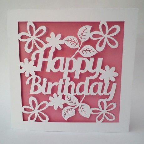 Found On Bing From Www Pinterest Com Cricut Birthday Cards Cricut Birthday Birthday Card Template Free