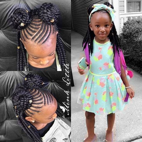 Toddler Braided Hairstyles With Beads Hairstyles Haircuts For African American Toddler Braided Hairstyles Kids Braided Hairstyles Braids For Kids