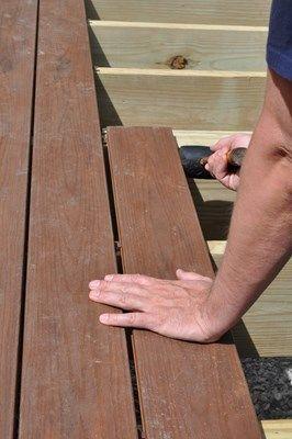 How To Install Composite Decking Decks Com Composite Decking