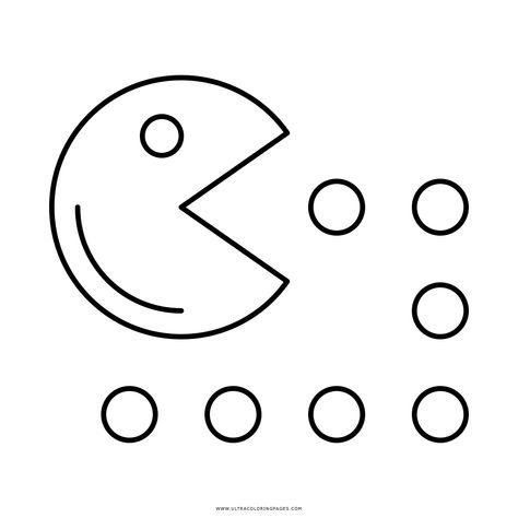 Pacman Dibujos Para Colorear Dibujo De Pacman Para Colorear Ul On