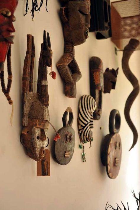 40 African Masks Wall Decoration Ideas Home Decor