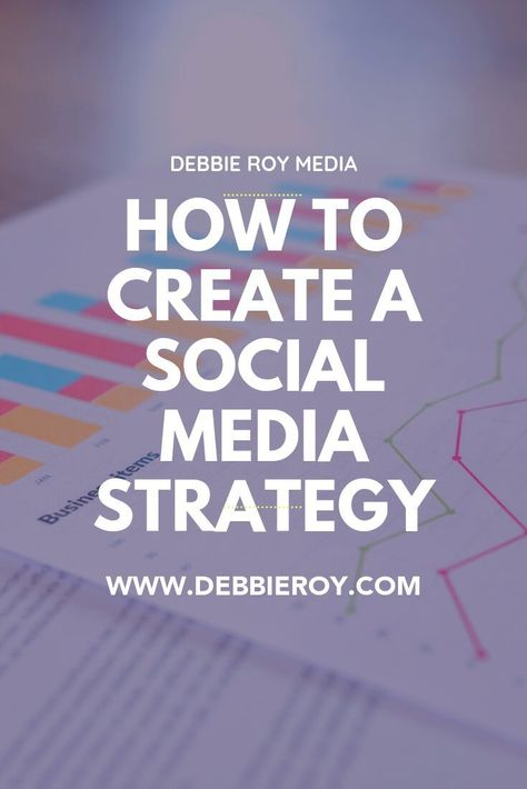 How to create a social media strategy in 2020 — Debbie Roy