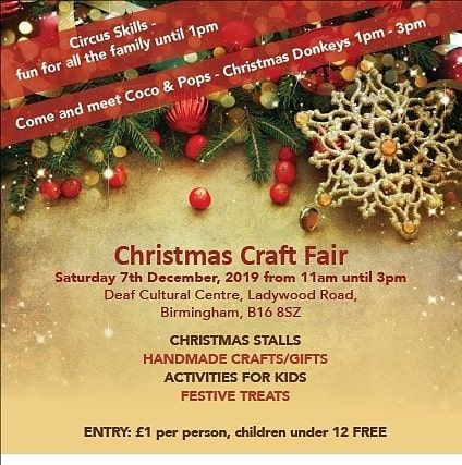 Only 2 Days Until We See You At Bid S Christmas Craft Fair And We Are So Excited We Are Now Able To Take Ca In 2020 Christmas Craft Fair Craft Fairs Christmas Crafts