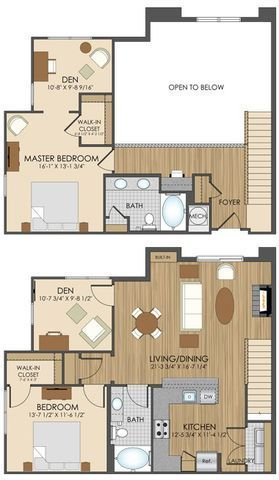 Hidden Creek Apartment Homes Apartments In Gaithersburg Md Loft Floor Plans House Plans Apartment Floor Plans