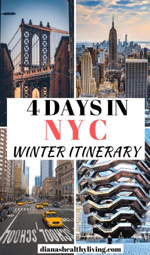 THE ULTIMATE 4 DAYS NEW YORK ITINERARY