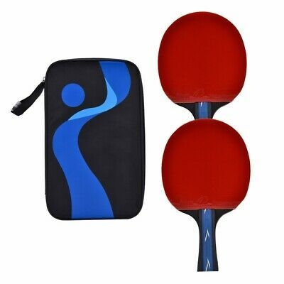 Advertisement Ebay 1 Pair Professional Table Tennis Ping Pong Racket Hand Shake Grip Bat Set Table Tennis Ping Pong Ebay
