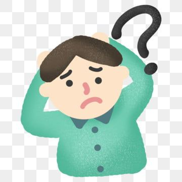 Question Mark Confused Clipart Doubtful Boy Png Transparent Clipart Image And Psd File For Free Download This Or That Questions Question Mark Question Mark Background