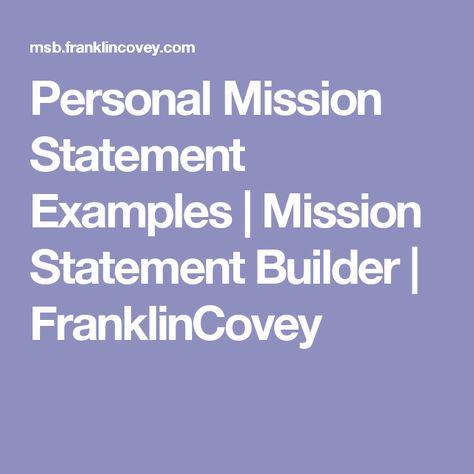 Mission Statement Example u2026 My Style Pinterest Mission - best of 10 non profit mission statement template