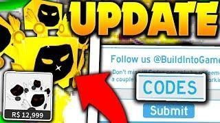 BUYING GODLY DOMORTUUS PET, CODES & RAINBOW UPDATE ON ROBLOX