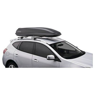 Sportrack Horizon Roof Mount Cargo Box 11 Cubic Feet Black Roof Rack Boats For Sale Boat Trailer Parts