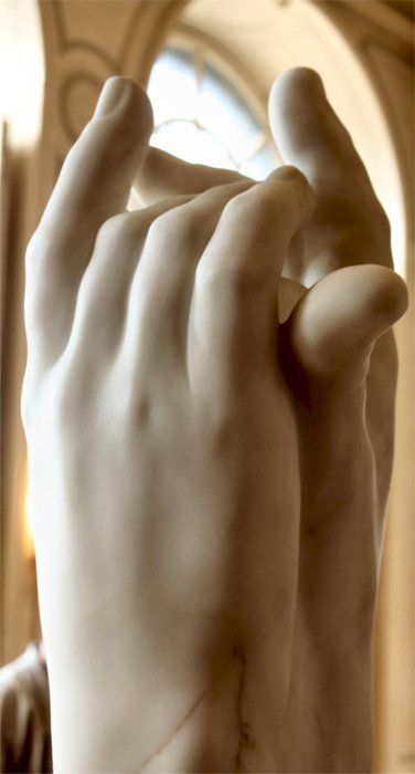Auguste Rodin, marble