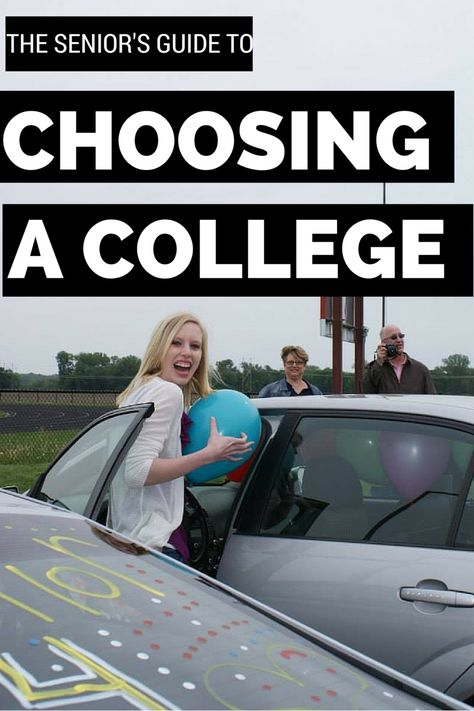 The high school senior's guide to choosing a college - from location to majors, deciding which school you want to attend is a big choice! Look through this list to make sure you choose the right college for you!