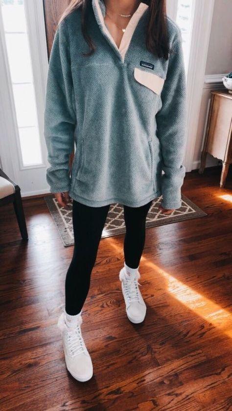 42 Fashion Teenage You Should Own #pullover  #patagonia  #fleece  #fleecepullover