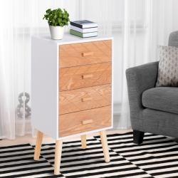 Nachttisch Jeramywayfair De Nachtkommode Tisch Und Holz